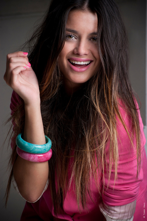 Modelo uruguaya Victoria Saravia
